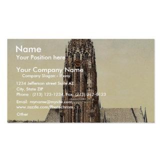 Cathedral, Frankfort on Main (i.e. Frankfurt am Ma Business Card Template
