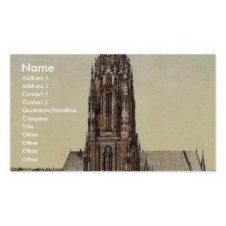 Cathedral, Frankfort on Main (i.e. Frankfurt am Ma Business Card Templates