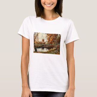 Cathedral from the River Walk, Hereford, England T-Shirt