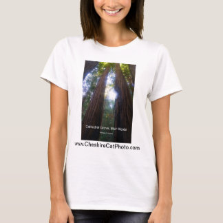 Cathedral Grove, Muir Woods California Products T-Shirt