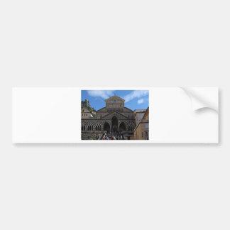 Cathedral in Amalfi Bumper Sticker