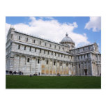 Cathedral in Pisa Postcard
