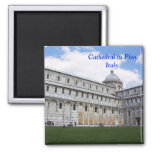 Cathedral in Pisa Refrigerator Magnet