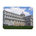 Cathedral in Pisa Vinyl Magnet