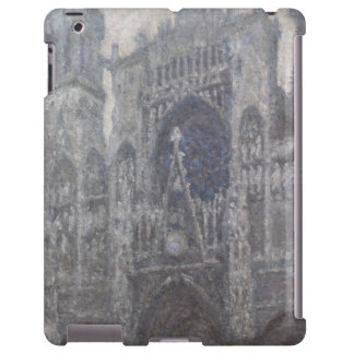 Cathedral in Rouen Portal Grey Weather by Monet