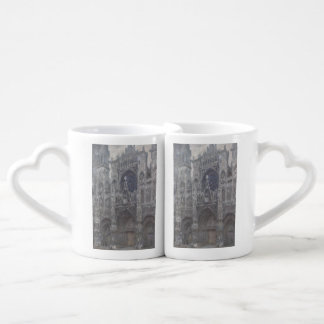 Cathedral in Rouen Portal Grey Weather by Monet Coffee Mug Set