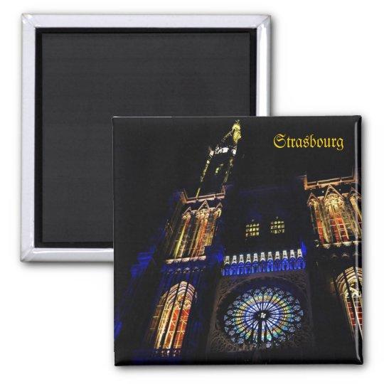 Cathedral in Strasbourg, France Magnet