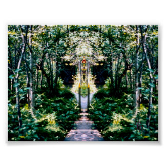 Cathedral in the Wood Poster