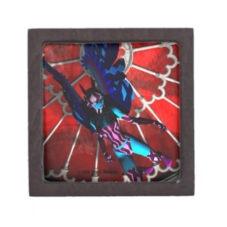 Cathedral Invader Magnetic Lid Gift Box