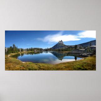 Cathedral Lake 2 - John Muir Trail - Yosemite Poster