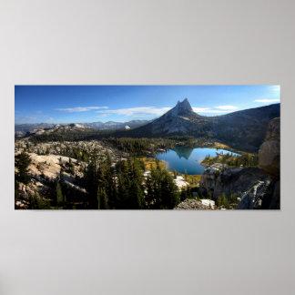 Cathedral Lake 3 - John Muir Trail - Yosemite Poster