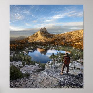 Cathedral Lake / Peak - Yosemite - John Muir Trail Poster