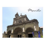 cathedral manila postcards