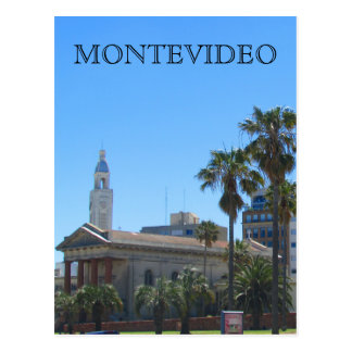 cathedral montevideo postcard