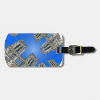 Cathedral notre dame bag tag