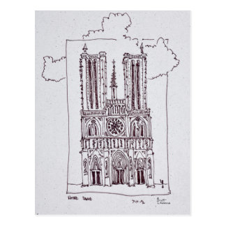 Cathedral Notre-Dame de Paris | Ille de la Cite Postcard