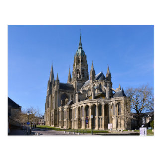 Cathedral of Bayeux in France Postcard