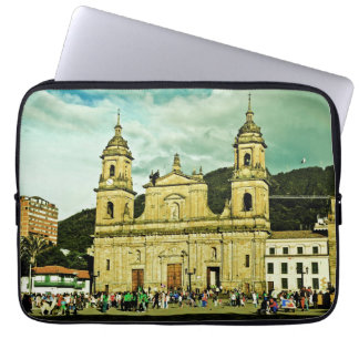 Cathedral of Bogota Laptop Sleeve