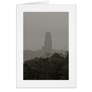 Cathedral of Learning Stationery Note Card