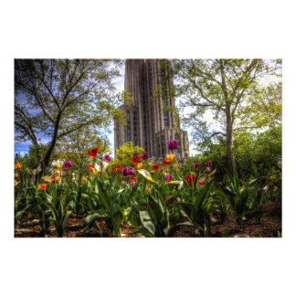 Cathedral of Learning, University of Pittsburgh Photo Print