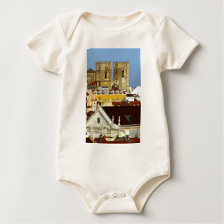 Cathedral of Lisbon, Lisbon, Portugal Baby Bodysuit
