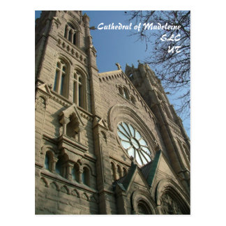 Cathedral of Madeleine - postcard