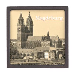 Cathedral of Magdeburg 001.F.02 Keepsake Box