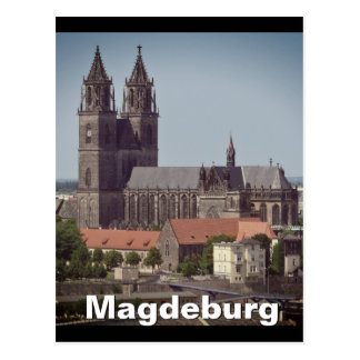 Cathedral of Magdeburg 02.F.02 Postcard