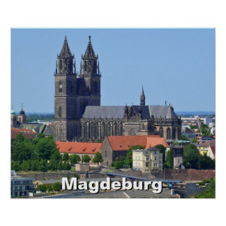 Cathedral of Magdeburg 02, Poster