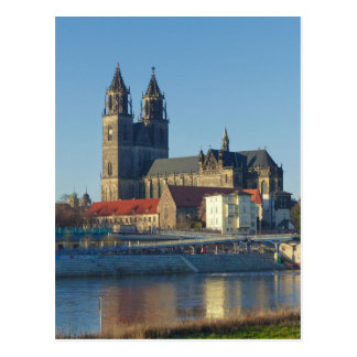 Cathedral of Magdeburg 03.01 Postcard