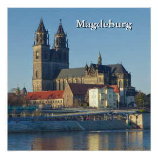 Cathedral of Magdeburg 03.01.T Poster