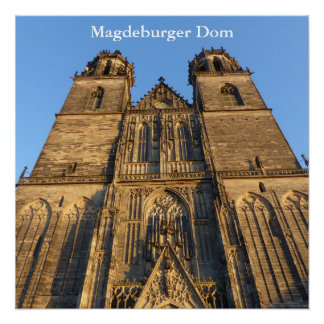 Cathedral of Magdeburg 04.T Poster
