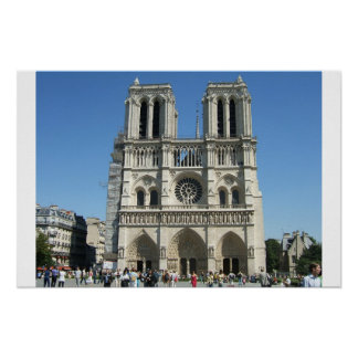 Cathedral of Notre Dame Poster
