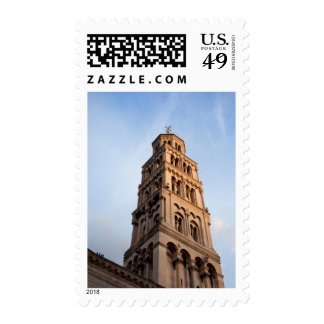 Cathedral of Saint Domnius Bell Tower in Split Postage