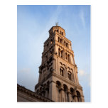 Cathedral of Saint Domnius Bell Tower in Split Post Card