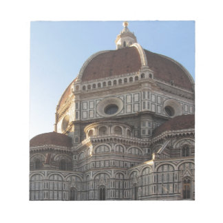 Cathedral of Saint Mary of the Flower in Florence Note Pad