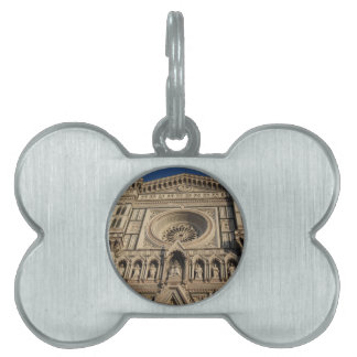Cathedral of Saint Mary of the Flower in Florence Pet Name Tag