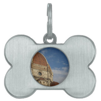 Cathedral of Saint Mary of the Flower in Florence Pet Tag