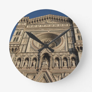 Cathedral of Saint Mary of the Flower in Florence Round Clock