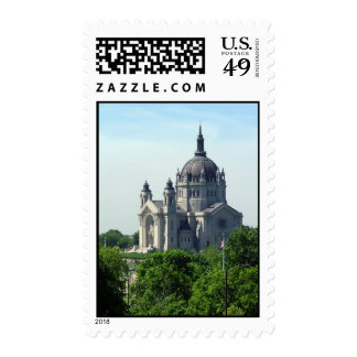 Cathedral of Saint Paul Postage Stamp