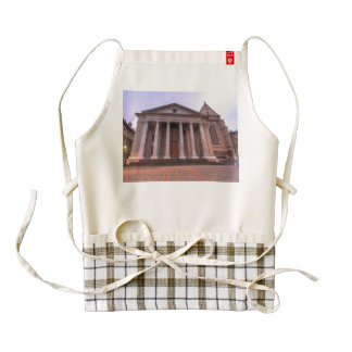 Cathedral of Saint Peter of Geneva Zazzle HEART Apron