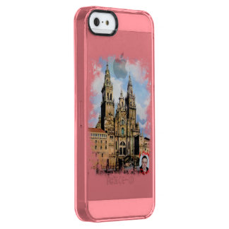 Cathedral of Santiago de Compostela (To Corunna) Clear iPhone SE/5/5s Case