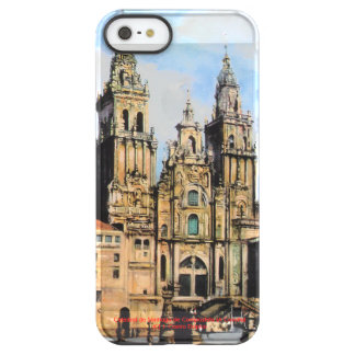 Cathedral of Santiago de Compostela (To Corunna) Permafrost iPhone SE/5/5s Case