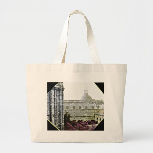 Cathedral Of Sevilla Canvas Bag