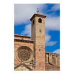Cathedral of Siguenza Print