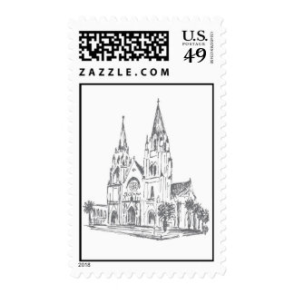 Cathedral of St. John the Baptist Postal Stamp