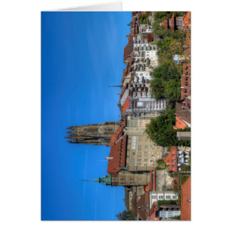 Cathedral of St. Nicholas in Fribourg, Switzerland Card
