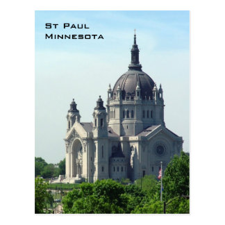 Cathedral of St Paul Postcard