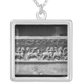 Cathedral of St. Peter in Angouleme Silver Plated Necklace