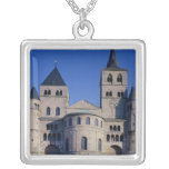 Cathedral of St. Peter Square Pendant Necklace